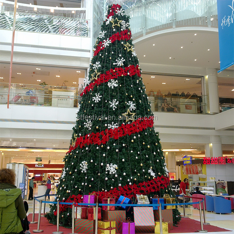 New Design Mall Decorated Giant Christmas Tree Buy Giant