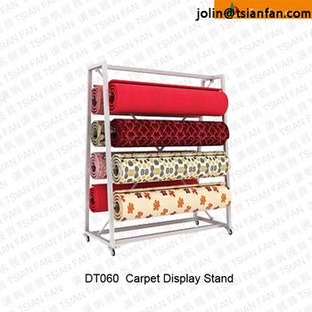 Dt060 Rug Display Stand Rack Carpet Display Rack