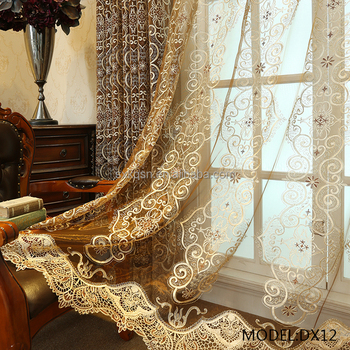Online Winkelen Bali Gordijn Tulle Roll Geborduurde Pure Stof Voile ...