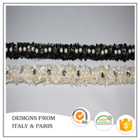 Wholesale New Design Crystal Bead Curtain Trim for Garment