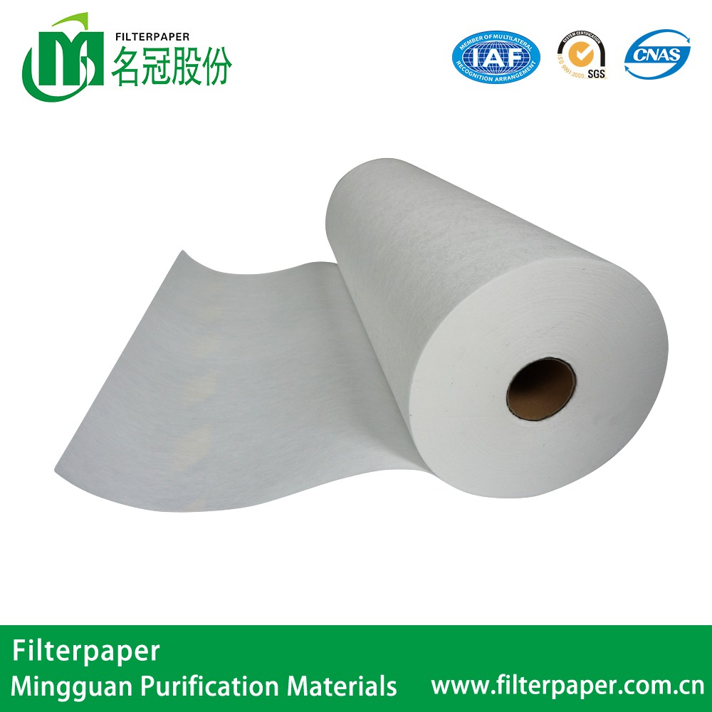 Cellulose Hepa Filter Paper 0.3 Micron Hepa Air Filter Paper Roll