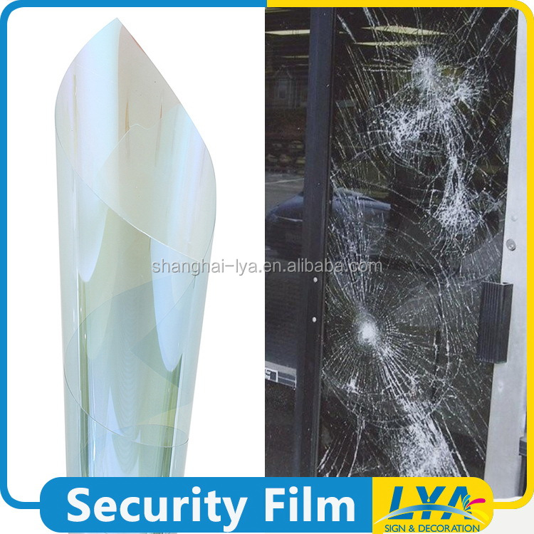 China factory new style glass security bulletproof window film
