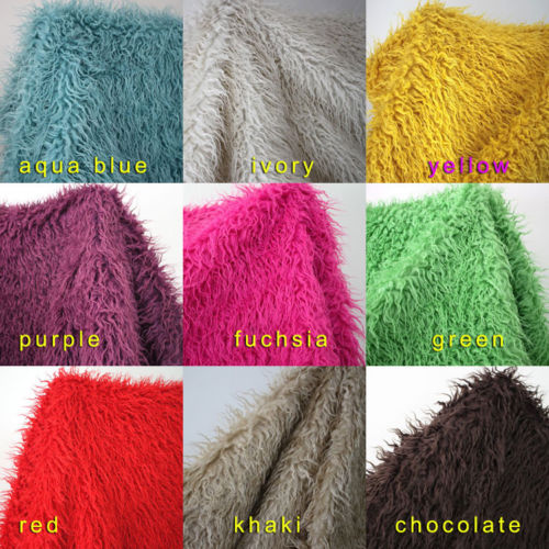 Mongolian Curly Sheep Faux Fur Fabric Newborn baby photography props Faux wool Basket Stuffer Blanket Rug fur backdrops