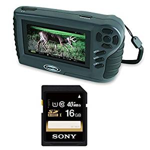 """Moultrie Picture and Video Handheld Viewer Deluxe with 4.3"""" Screen with 16GB SDHC Memory Card"""