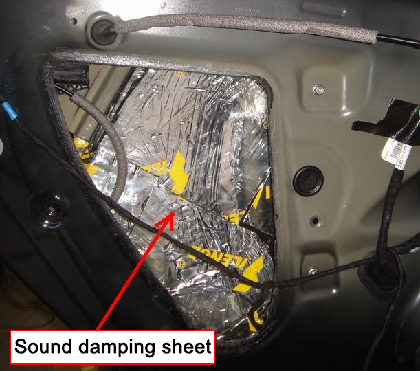 Sound proof panels car sound deadening insulation material