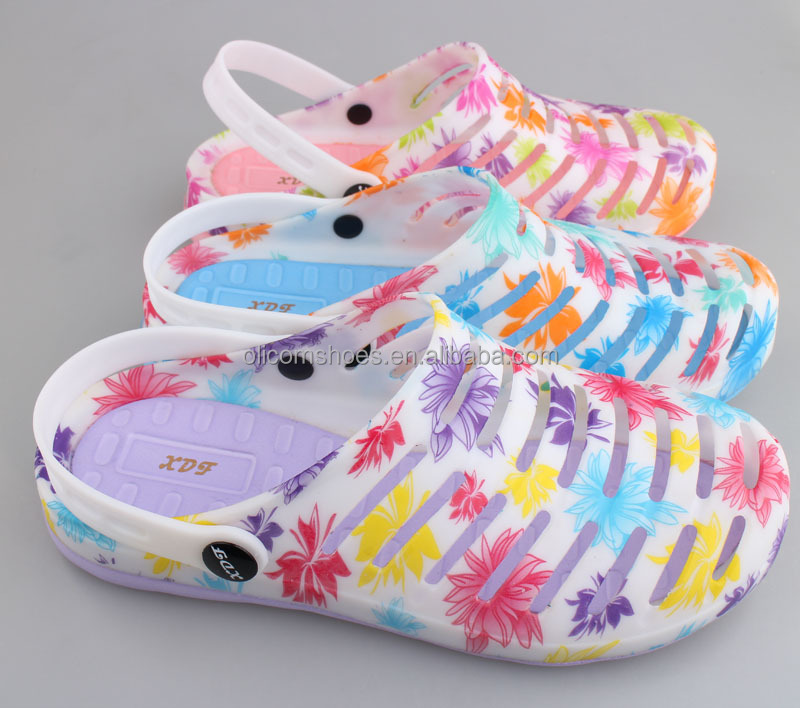 High quality TPU jelly clogs shoes for men and women