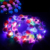 LED  Flower Wreath Headband Light Up for Girls Women Wedding Festival Beach Party Vacation Photography Props LED Flower  Crown
