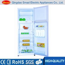 Double Door Compressor Top Freezer No Frost Combi Refrigerator