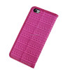 New Arrival Woven Style PU Leather Case for iPhone 6