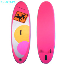 Transparante paddleboard kids opblaasbare <span class=keywords><strong>surfplank</strong></span> alle ronde board