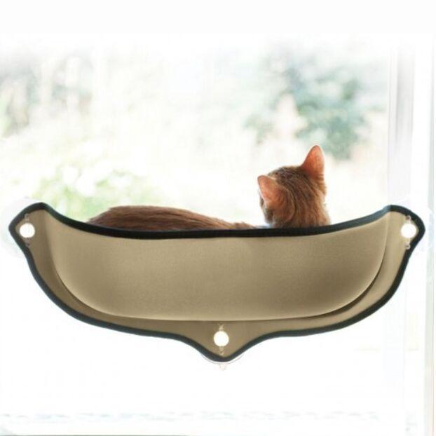 2019 Лидер продаж; Удобные гамак для домашних животных теплые установленный окна кошка кровать с присоской ковры и коврики