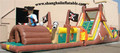 Inflatable Obstacle course Hot giant outdoor Inflatable playground Inflatable amusement park with climbing