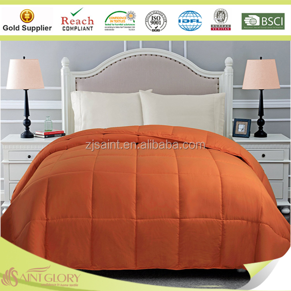 Homeuse Various Color Comforter Wholesale Polyester Quilt Luxury Reversible Comforter