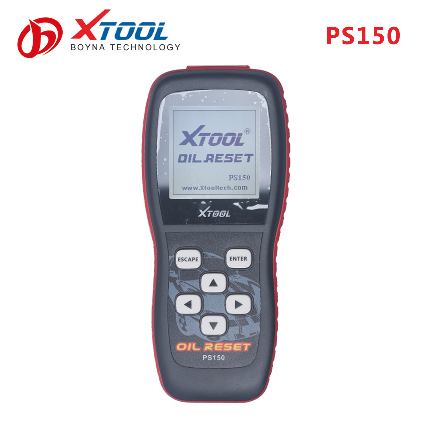 2016 X-tool PS150 OIL RESET TOOL to reset oil service light oil inspection light service mileage service intervals and airbag