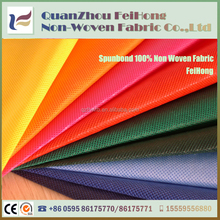 100% Polypropylene Material 10 to 200gsm TNT fabric home textile spunbond nonwoven fabric