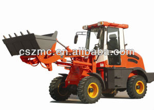 rc construction equipment 4WD mini wheel loader 912 with Xinchai490 engine quick hitch screening bucket hydraulic pilot export