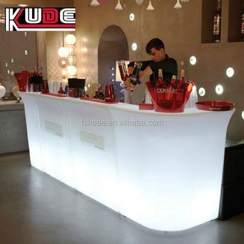Kunststoff Außen Theke Führte Leuchten Bar Möbel Sets Buy Licht Up