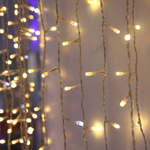 Teardrop Christmas Lights.Holiday Time Fading Teardrop Christmas Lights
