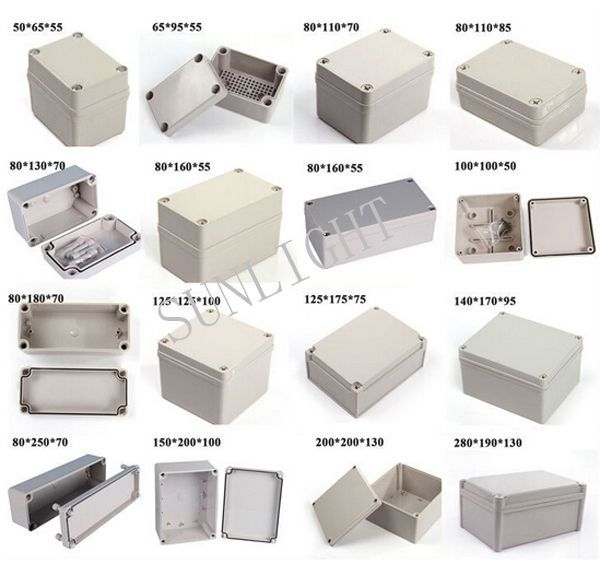 China's Abs Solar Waterproof Standard Junction Box Sizes