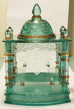 b9f60c44d620 M 004 Glass Craft Mandir - Buy Glass Mandir Craft Product on Alibaba.com
