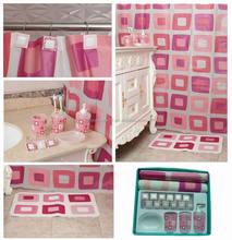 promotioneel roze badkamer accessoires, koop roze badkamer, Badkamer