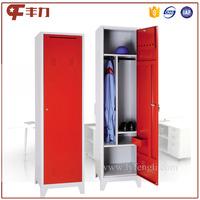 Customized furniture one door metal locker cabinet almirah design image