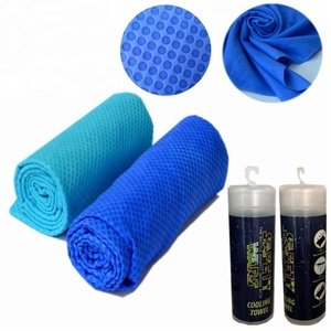 Hot sale synthetic plas chamois water instant chilly towel,Custom PVA cooling sports cool towel softextile for gym fishing sun