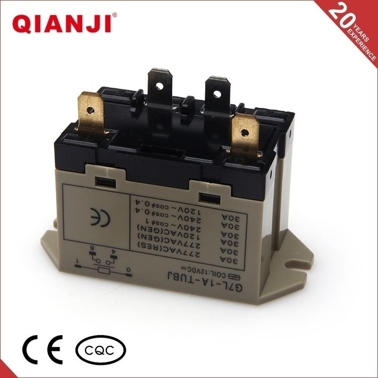QIANJI New Hot Selling Products G7L 12V 30A High Power Relay