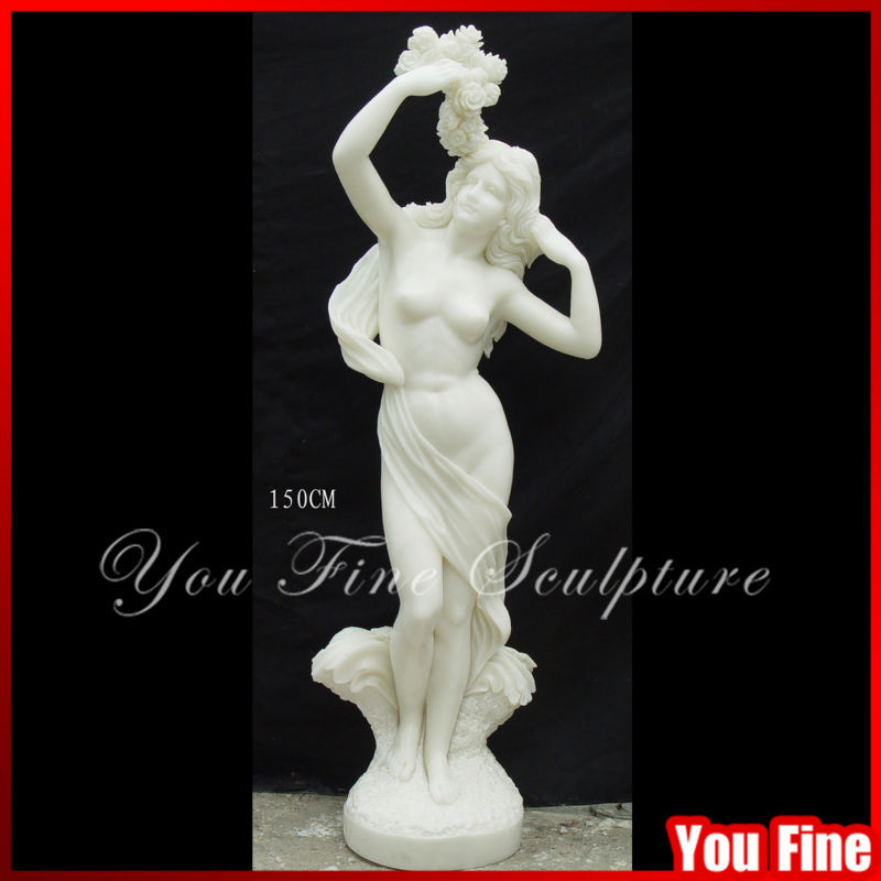 Hand Carved Natural White Marble Stand For Statue