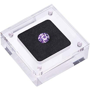 wholesale small acrylic gemstone display boxes, perspex display cover