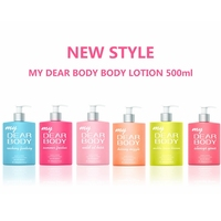 500ml big bottle factory wholesales shea soft butter body lotion cream for female