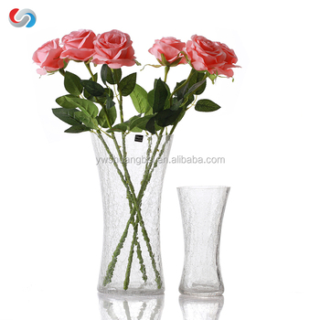 Wholesale Cheap Tall Cylinder Clear Ice Crack Broken Ice Crackled