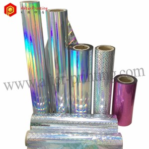 Holographic Film Roll for Paper Bag Packaging Laser Film wrap