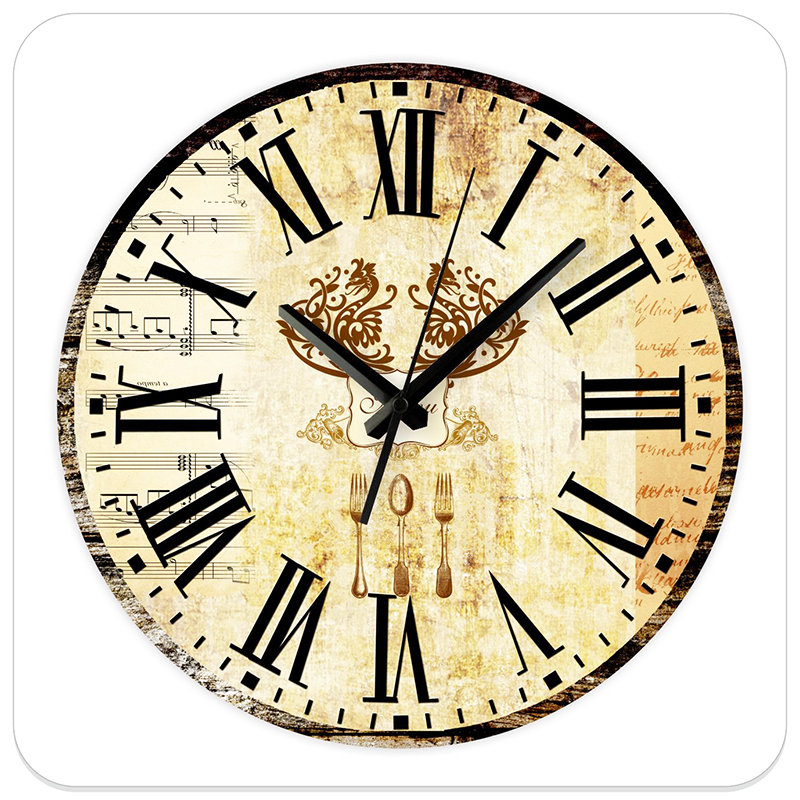 12'' Silent Kitchen Wall Clocks Modern Design Fashion Home