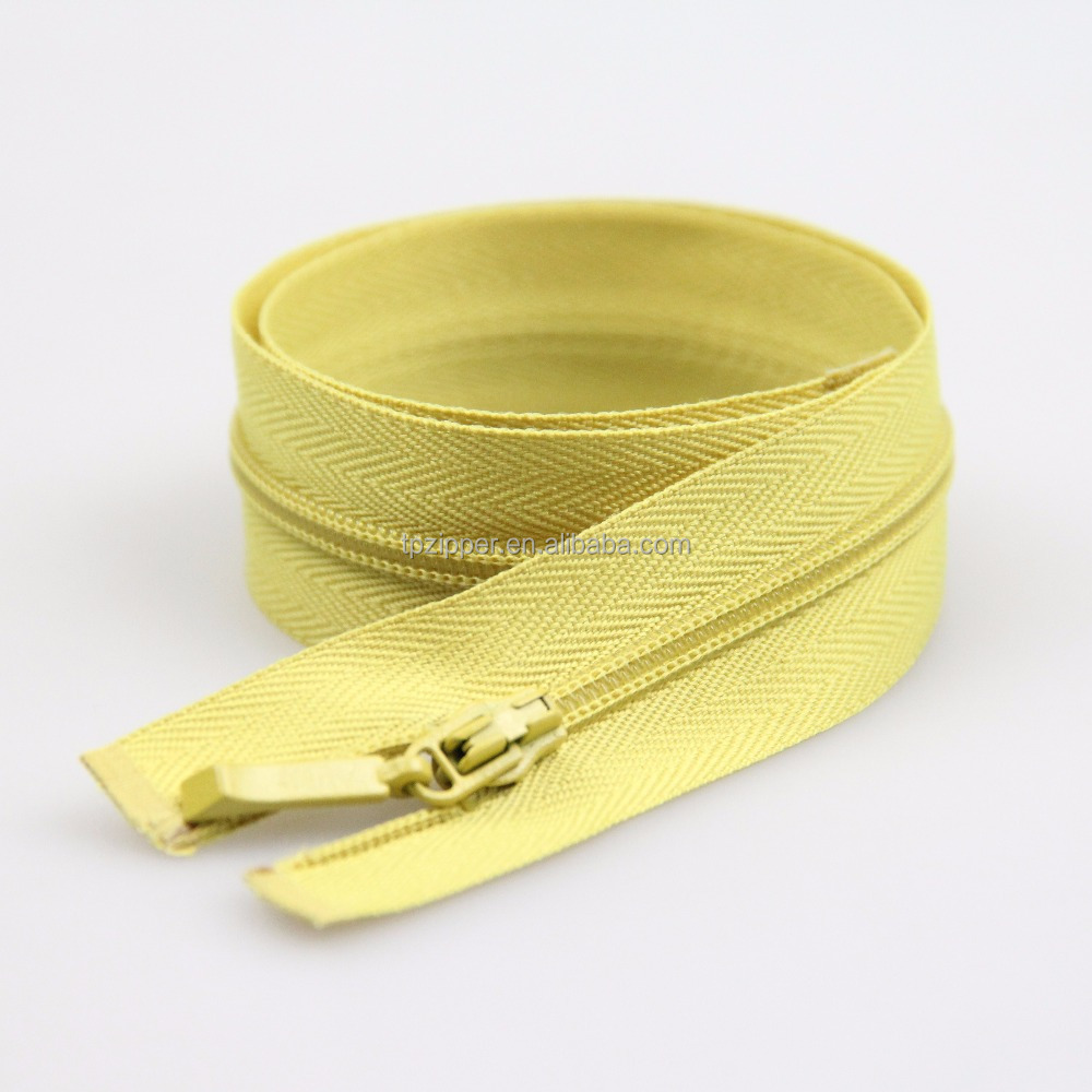 Various Lengths Nylon Zipper Stopper Fancy Color Branded Clothes Zip Price