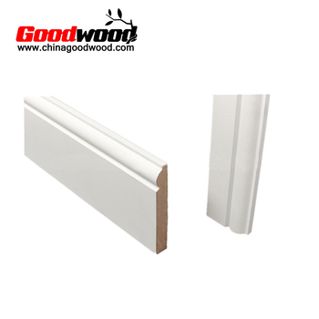 16ft Length Primed Mdf Skirting Board - Buy Skirting,Mdf Skirting,Mdf  Baseboard Mouldings Product on Alibaba com