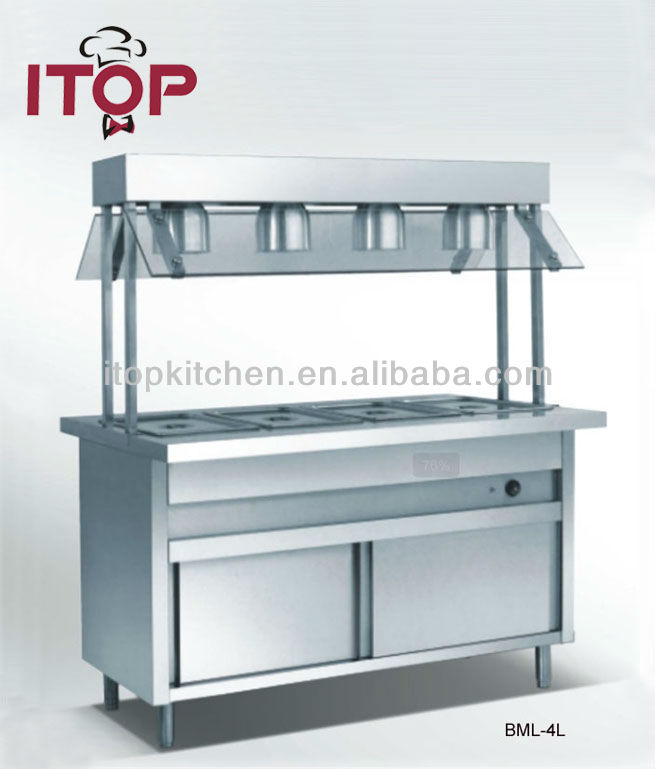 Commercial Stainless Steel Electric hot Bain Marie Price
