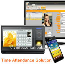 RFID & Fingerprint Access Control & Time Attendance Solution
