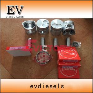 Shibaura N844 N844L N844T N844L-T Piston and piston ring set