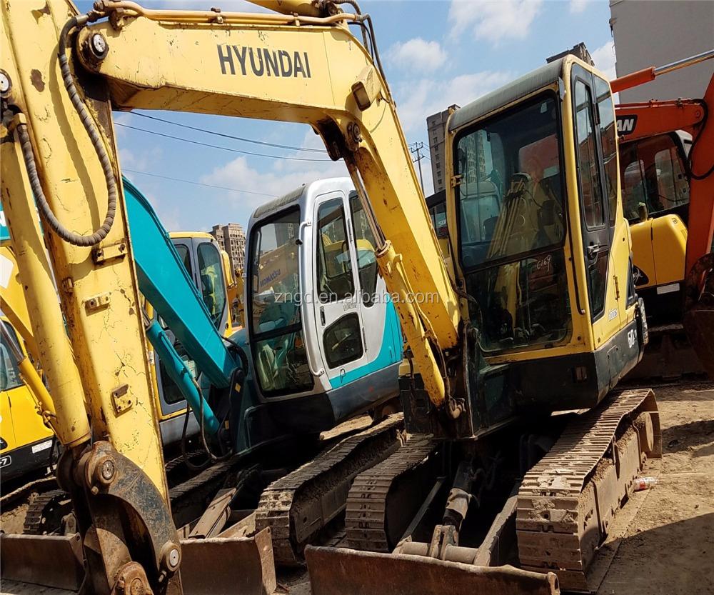 Hyundai Mini Excavator Robex R60-9 6t Mini Excavator For Sale - Buy Crawler  Moving Type Hyundai R60-9 Excavator,Used Condition Hyundai R60-9 6t  Excavator ...