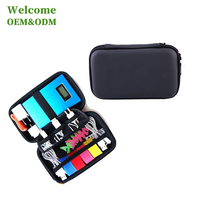 custom handy travel carry hard cover EVA tool display battery tool case