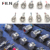12mm 16mm 19mm 22mm 25mm stainless steel metal push button switch screw terminals 1NO momentary