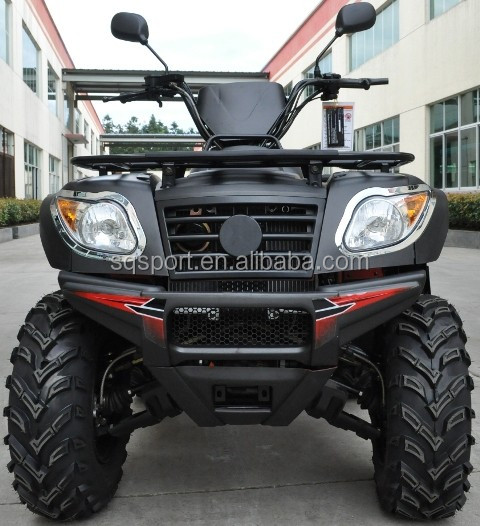 EPA legal 500cc sport ATV with automatic clutch powerful 4x4 four wheel drive quad bike