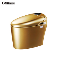 Coma Gold Remove Cleaning Automatic Intelligent Flush Electronic Control Toilet