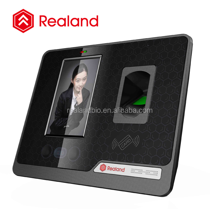 biometric facial recognition time attendance with camera