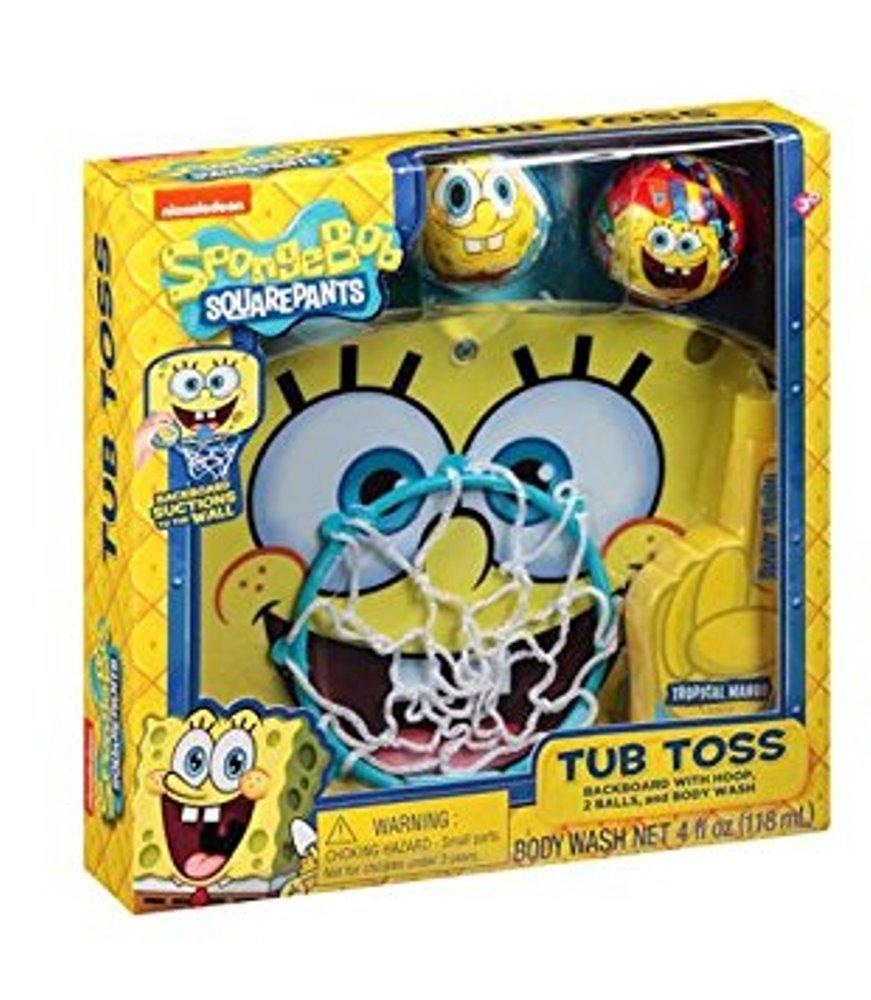 Nickelodeon SpongeBob SquarePants Tub Toss Gift Set, 4 pc