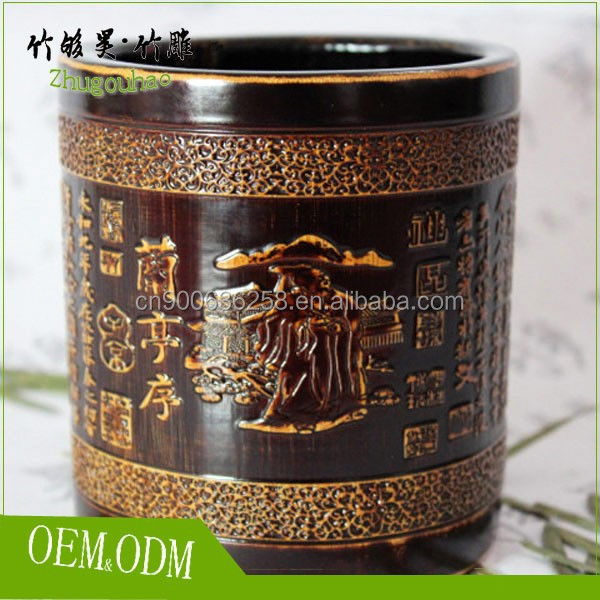 High quality wooden pen holder made in China