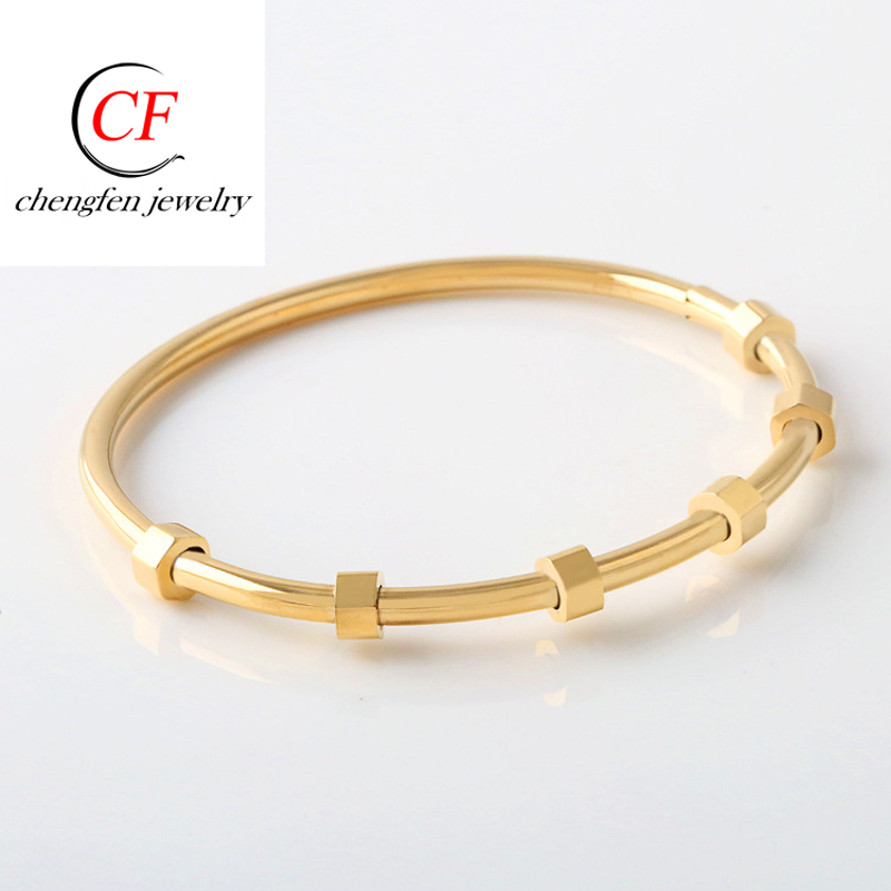 Chengfen New Gold Jewellery Bangles Designs Stainless Steel Gold Torque  Bangle Turkish Jewelry Bangle - Buy Turkish Jewelry Bangle,Gold Torque