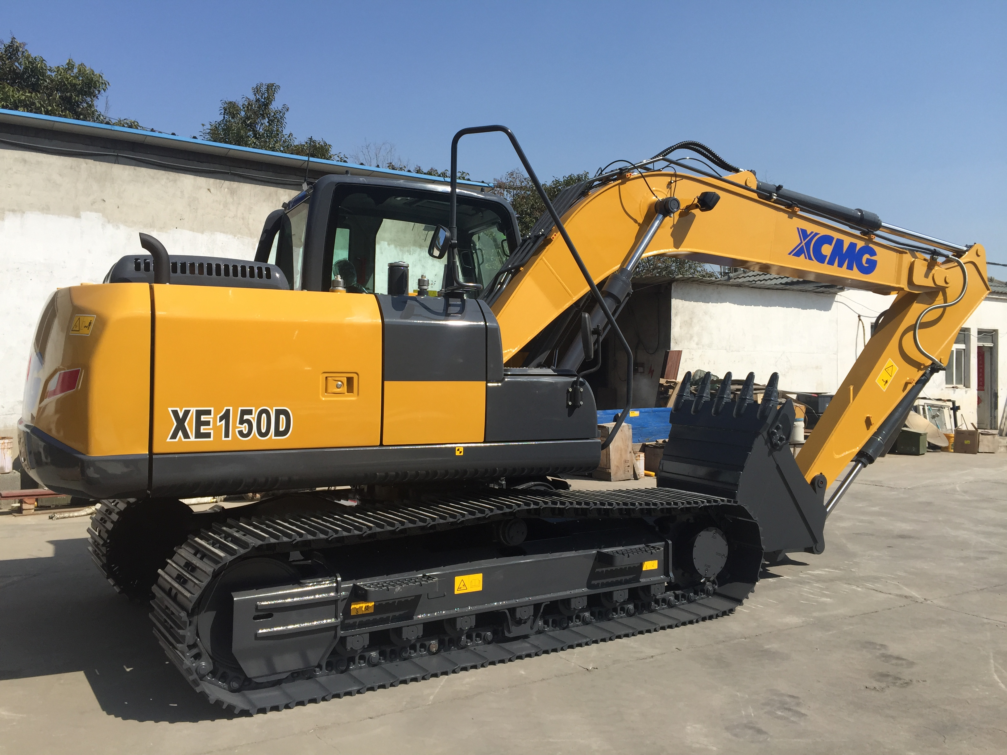 6ton XE60D China mining micro mini crawler excavator prices