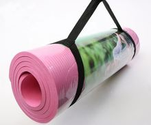 JOINFIT Thick High Density NBR Exercise Yoga Mat for Fitness Workout with Carrying Strap